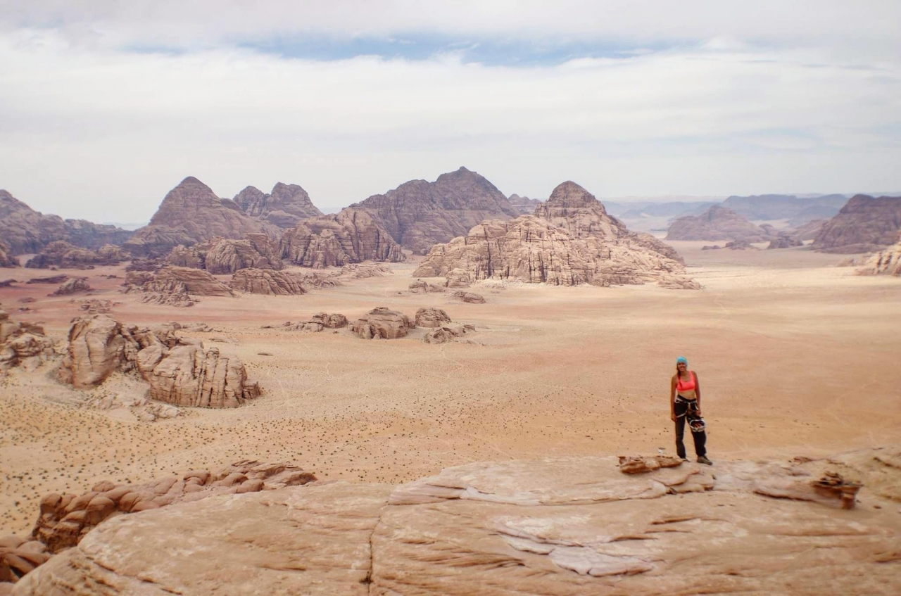 A picture from Wadi Rum by Lory Carpano