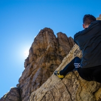 Hairpin on Mt Lemmon Arizona by Francois Nolte