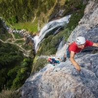 Dalfazer Wasserfall by Piotrek Deska