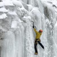 Sakalaçarpan Icefall by Lluis Molins