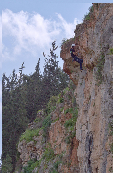 A picture from shilat cliff by Roee Gothelf