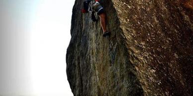 A picture from Pedra do Urubu by Kurt Bergan