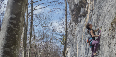 A picture from Mont-Saxonnex by Fred Vionnet Grimpisme