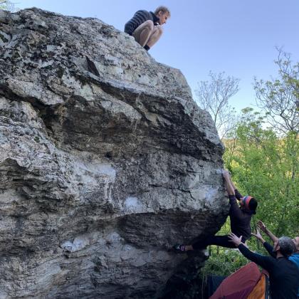 ploca climbing  place by Biljana Talevska