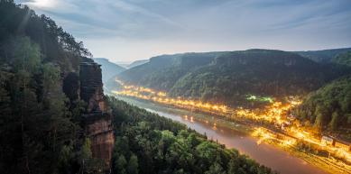 A picture from Labské údolí by Jan Zahula