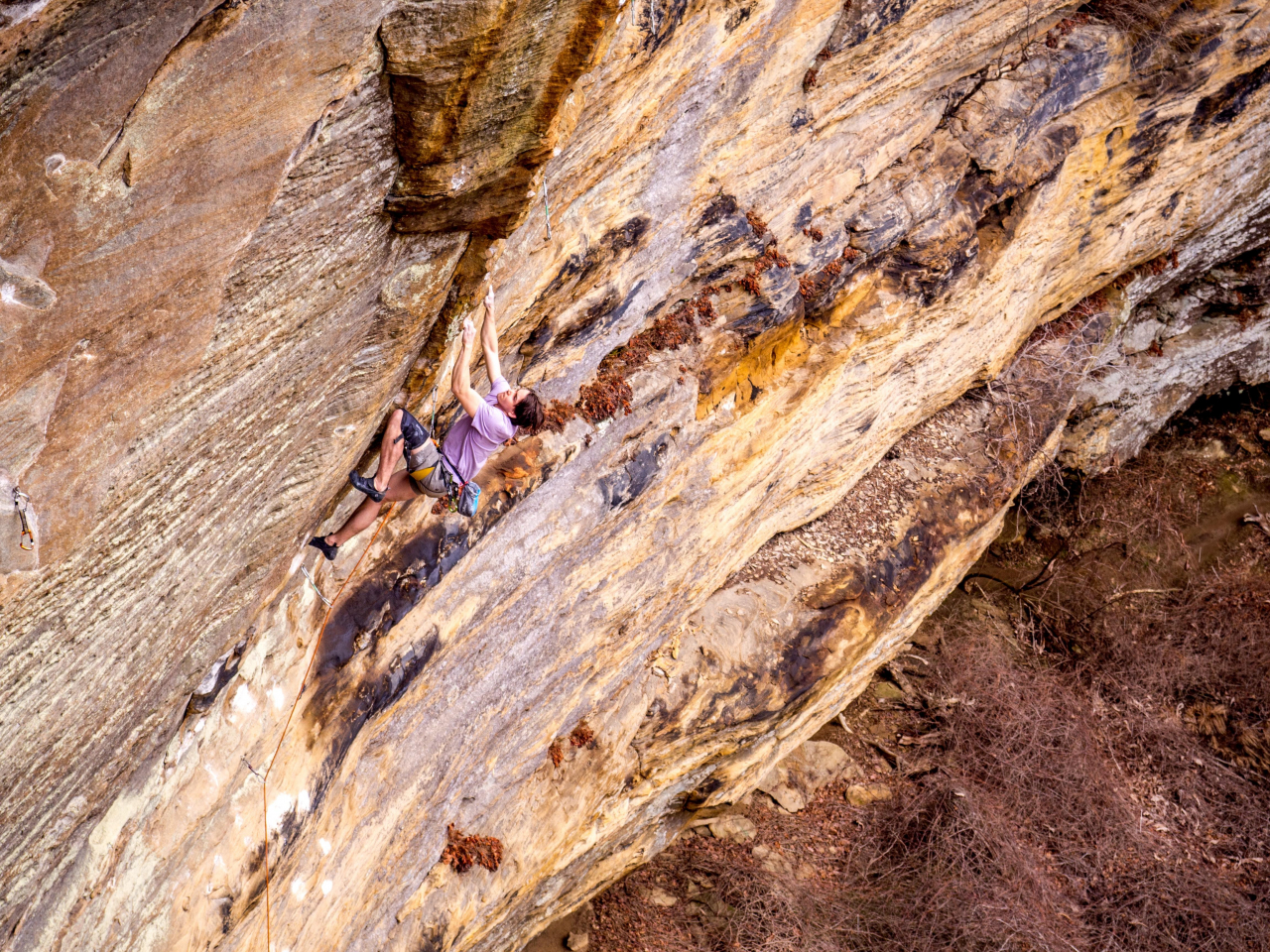A picture from The Red River Gorge (RRG) by Felix Bourassa-Moreau
