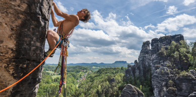 A picture from Bastei by Jan Zahula