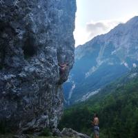 Pri playerju, Trenta Valey, Slovenia by Domagoj Pavin