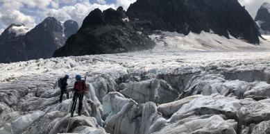 A picture from Glacier Blanc by Javi de Mora