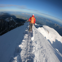 Mont Blanc / Monte Bianco by Sergii Todoriv