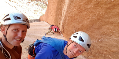 A picture from Spitzkoppe by Anders Strange Nielsen