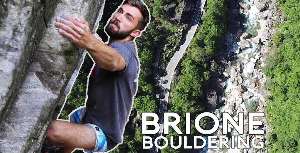 BRIONE | Boulder Paradise in the Valle Verzasca in Brione