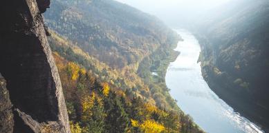 A picture from Labské údolí by Jiří Burgr