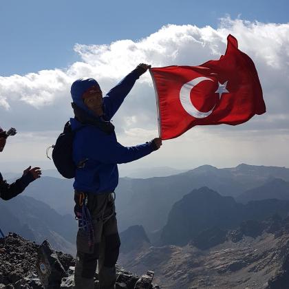 Mount Verçenik by Suat Erdoğan