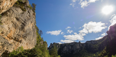 A picture from Gorges du Tarn by Kuba Thiele-Wieczorek