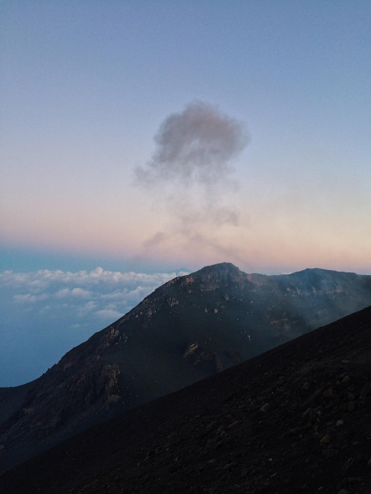 A picture from Stromboli by Natalie Chwalek