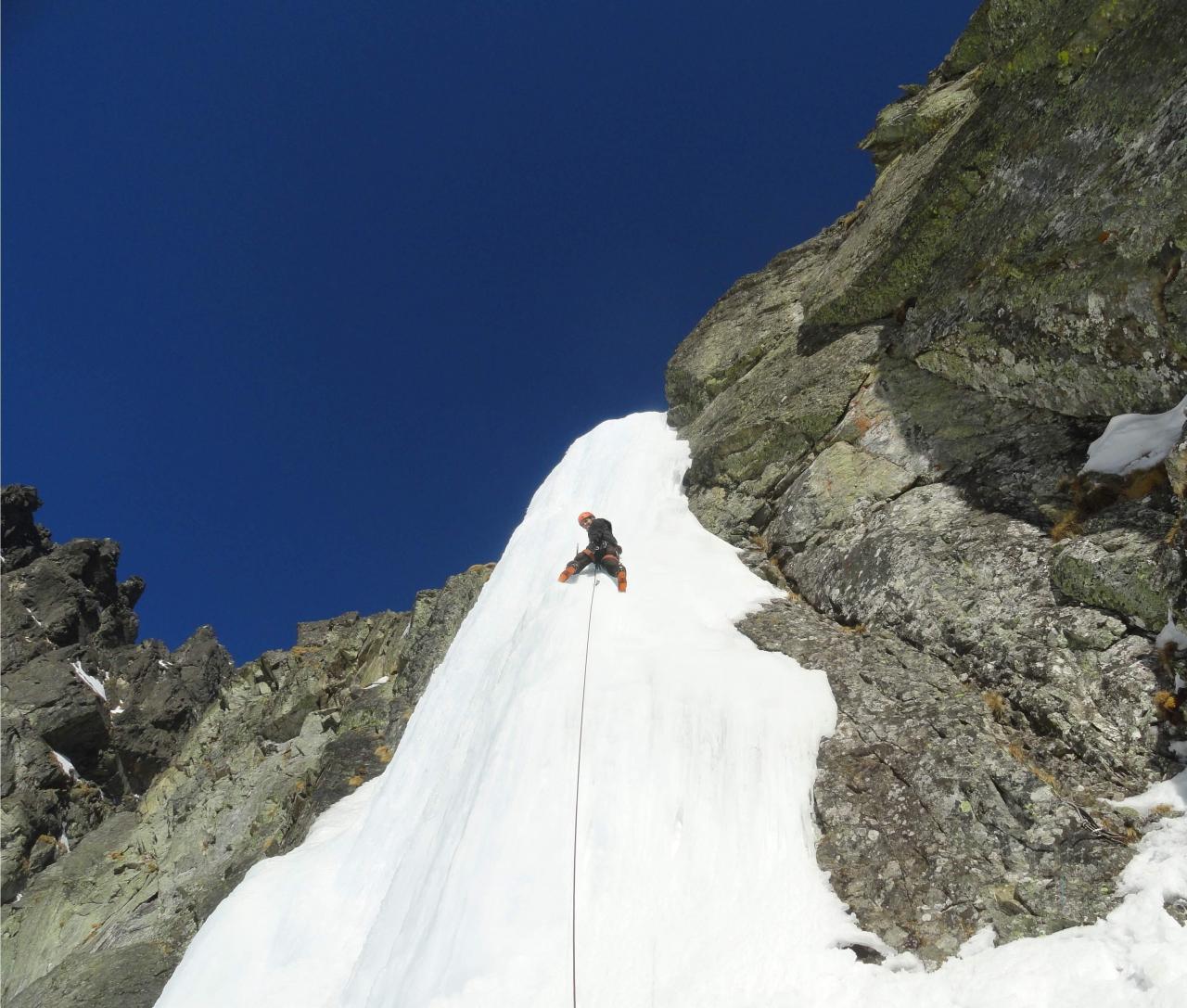 A picture from Lomnický ľad by Jozef Ďuronka