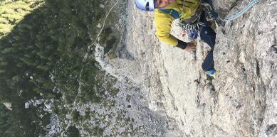 A picture from Città dei Sassi  Dolomiti Italy by E. S.I