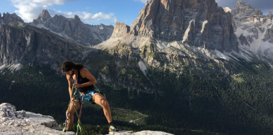 A picture from Cortina d\'Ampezzo by Karam Atrash