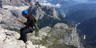 A picture from Tre Cime di Lavaredo by Karam Atrash
