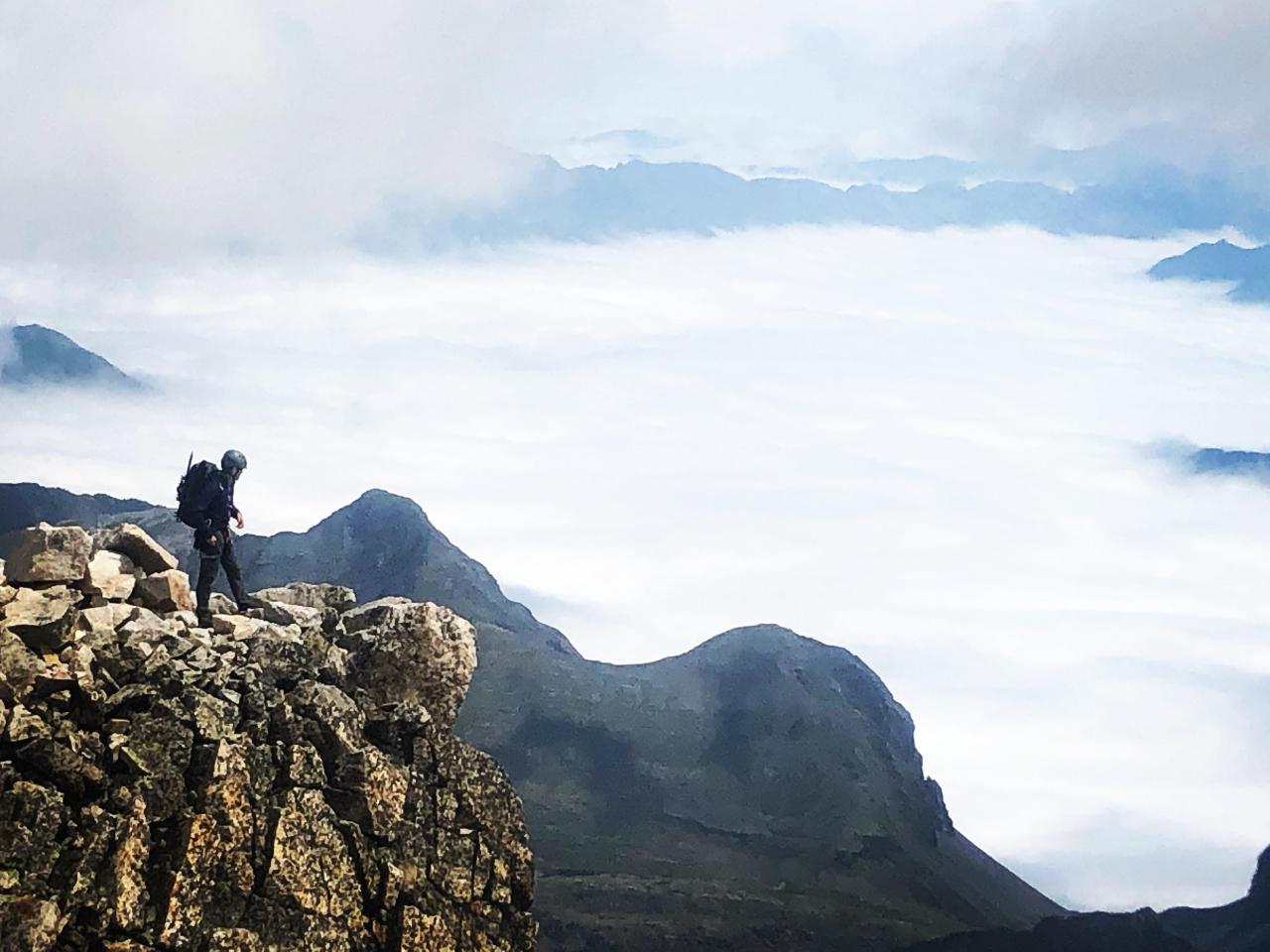 A picture from Pico Aneto by Javi de Mora