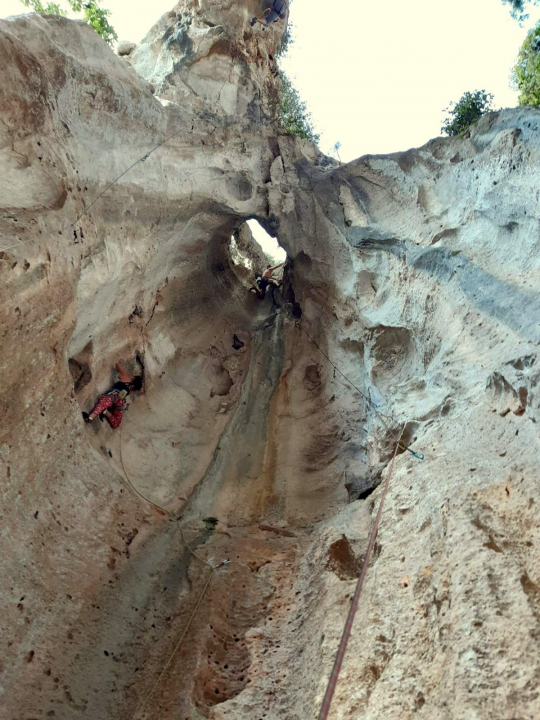 A picture from Grotta dell\'Edera by Fabio Palmieri