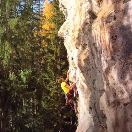 Bionnassay crag by Mic Huizinga