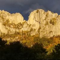Seneca Rocks, WV by Dan Carusi