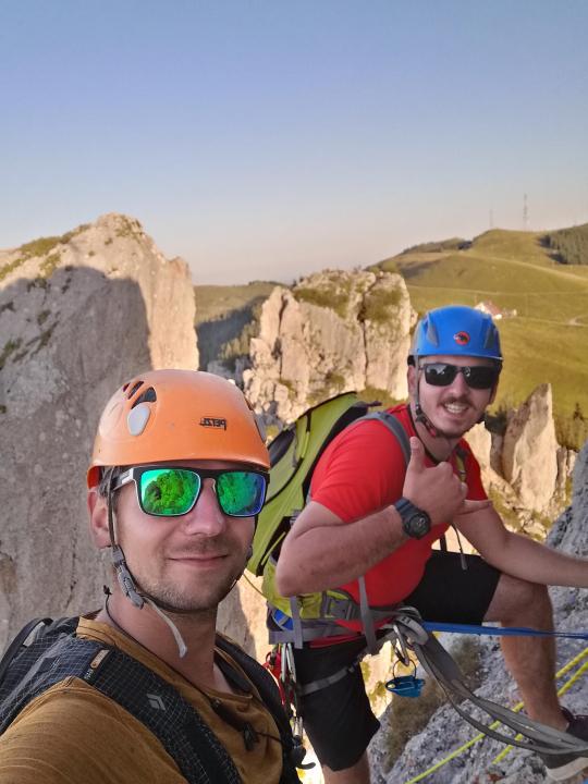 A picture from Rarau Mountains, Pietrele Doamnei by Nicu Simionescu