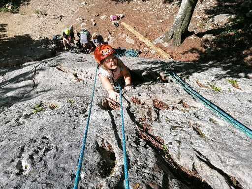 A picture from Klettern mit meiner kleinen Maus by Alexander Blaum